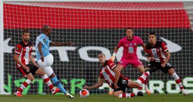 Саутгемптон - Манчестер Сити 1:0 видео гола и обзор матча чемпионата Англии