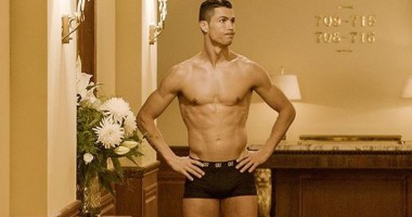 Роналду засветился в нижнем белье