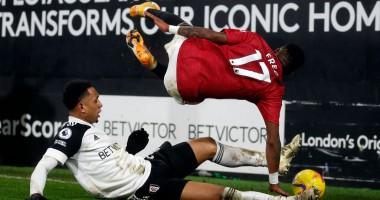 Фулхэм - Манчестер Юнайтед 1:2 видео голов и обзор матча АПЛ
