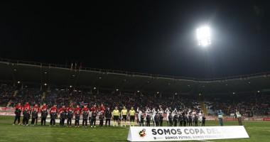 Культураль Леонеса - Атлетико 2:1 видео голов и обзор матча Кубка Испании