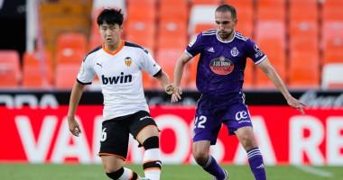 Валенсия - Вальядолид 2:1 видео голов и обзор матча чемпионата Испании