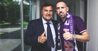 Официально: Рибери подписал контракт с Фиорентиной