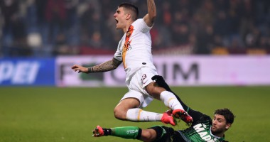 Сассуоло - Рома 4:2 видео голов и обзор матча чемпионата Италии