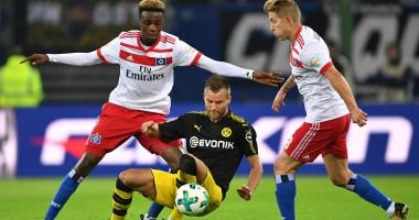 Ярмоленко принял участие в двух голах Боруссии Гамбургу