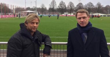 Тимощук и Кононов посетили тренировку Баварии
