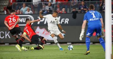 Ренн - ПСЖ 2:1 видео голов и обзор матча чемпионата Франции