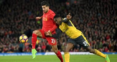Ливерпуль - Арсенал 3:1 Видео голов и обзор матча чемпионата Англии