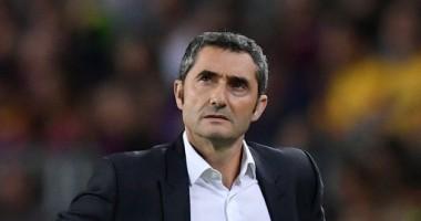 Вальверде уволен с поста главного тренера Барселоны