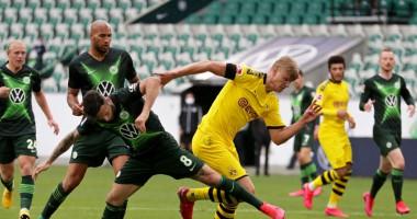 Вольфсбург - Боруссия Д 0:2 видео голов и обзор матча Бундеслиги
