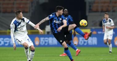 Интер - Аталанта 1:0 видео гола и обзор матча чемпионата Италии