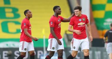 Норвич - Манчестер Юнайтед 1:2 видео голов и обзор матча Кубка Англии