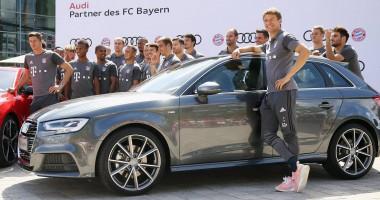 Спонсор задобрил игроков Баварии новенькими авто