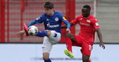 Унион - Шальке 1:1 видео голов и обзор матча Бундеслиги