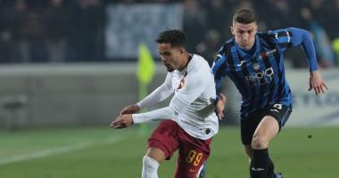 Аталанта - Рома 2:1 видео голов и обзор матча чемпионата Италии