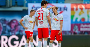 Лейпциг - Фрайбург 1:1 видео голов и обзор матча Бундеслиги