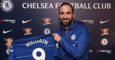 Официально: Игуаин стал игроком Челси
