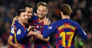 Барселона - Мальорка 5:2 видео голов и обзор матча Ла Лиги
