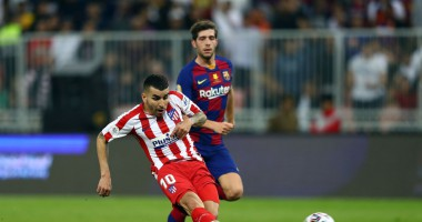 Барселона - Атлетико 2:3 видео голов и обзор матча Суперкубка Испании