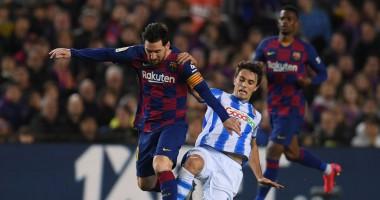 Барселона - Реал Сосьедад 1:0 видео гола и обзор матча Ла Лиги