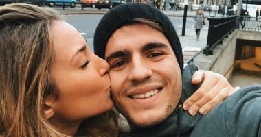 Мората проводит каникулы в Лондоне со своей сексуальной подружкой