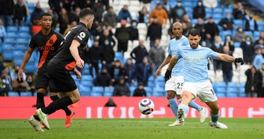 Манчестер Сити - Эвертон 5:0 видео голов и обзор матча АПЛ