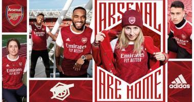 Арсенал представил новую домашнюю форму