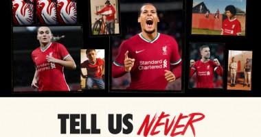 Ливерпуль презентовал домашнюю форму от нового технического спонсора