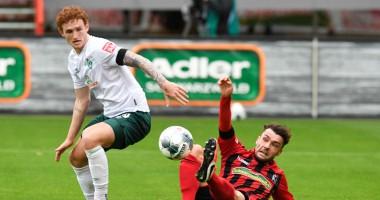 Фрайбург - Вердер 0:1 видео гола и обзор матча Бундеслиги