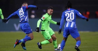 Коноплянка не сумел помочь Шальке выиграть матч Бундеслиги