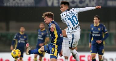 Верона - Интер 1:2 Видео голов и обзор матча