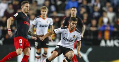 Валенсия - Атлетико Мадрид 2:2 видео голов и обзор матча чемпионата Испании