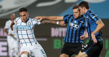 Аталанта - Интер 0:2 видео голов и обзор матча чемпионата Италии