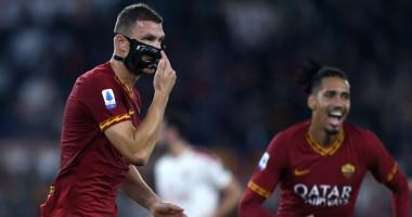 Рома - Милан 2:1 видео голов и обзор матча чемпионата Италии