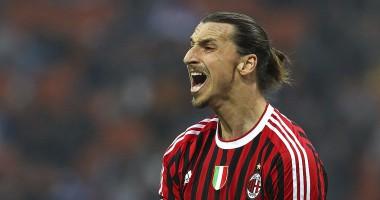 Ибрагимович подогрел слухи о трансфере в Милан