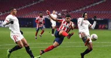 Атлетико - Севилья 2:0 Видео голов и обзор матча Ла Лиги