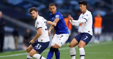 Тоттенхэм - Эвертон 1:0 видео гола и обзор матча чемпионата Англии