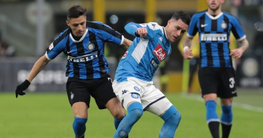 Наполи - Интер: видео онлайн-трансляция матча Кубка Италии