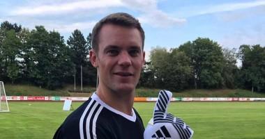 Вратарь Баварии успокоил своих фанатов