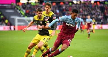 Вест Хэм - Саутгемтптон 3:1 видео голов и обзор матча АПЛ
