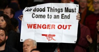 За Венгера: болельщики Арсенала устроили драку из-за разногласий во мнениях