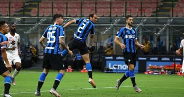 Интер - Торино 3:1 видео голов и обзор матча чемпионата Италии