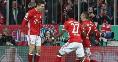 Бавария - Шальке 3:0 Видео голов и обзор матча Кубка Германии