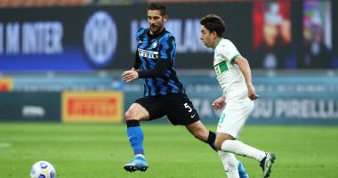 Интер — Сассуоло 2:1 видео голов и обзор матча чемпионата Италии