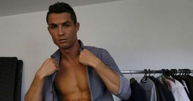 Роналду похвастался фигурой, опубликовав фото с обнаженным торсом