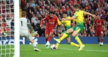 Ливерпуль - Норвич 4:1 видео голов и обзор матча чемпионата Англии
