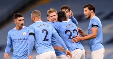 Манчестер Сити - Бернли 5:0 видео голов и обзор матча чемпионата Англии