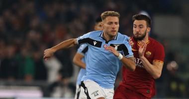 Рома - Лацио 1:1 видео голов и обзор матча чемпионата Италии