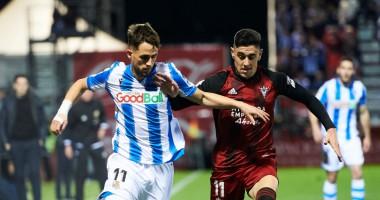 Мирандес - Реал Сосьедад 0:1 видео гола и обзор матча Кубка Испании