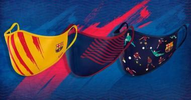 Барселона запустила продажу многоразовых масок по 18 евро