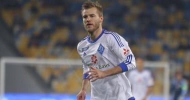 Динамо опубликовало прощальное видео, посвященное Ярмоленко